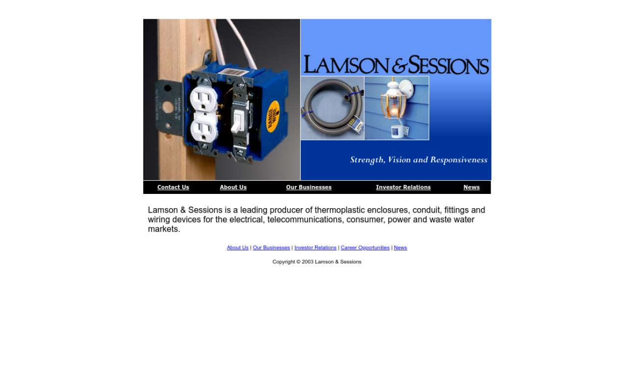 Lamson & Sessions