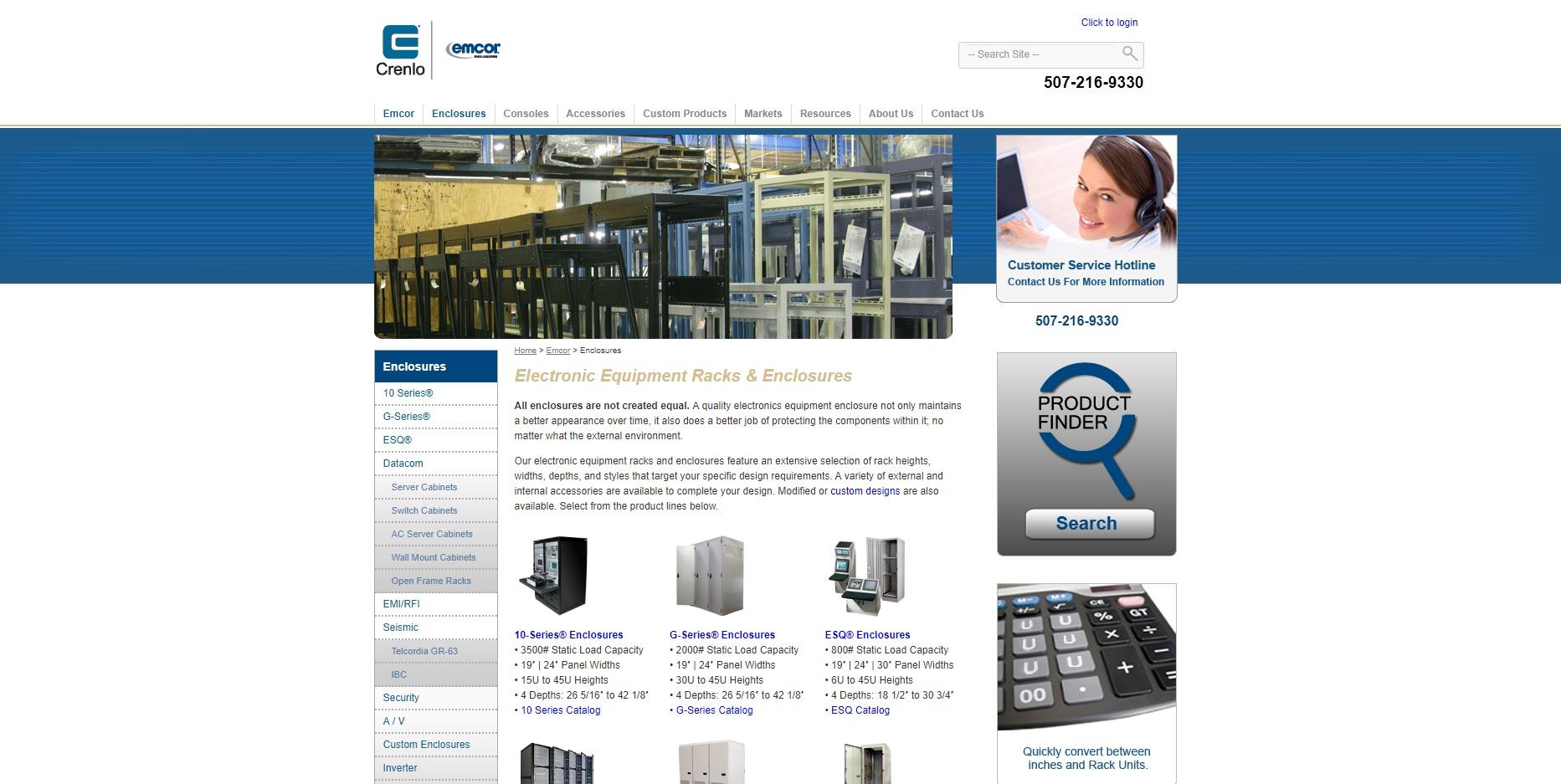 EMCOR® Enclosures