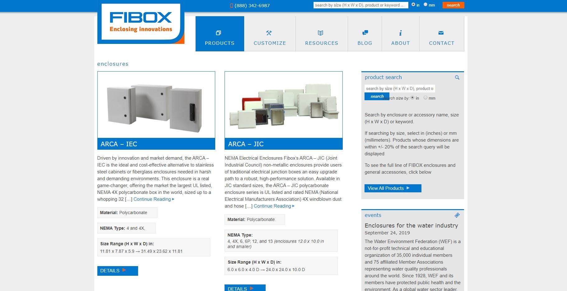 Fibox Enclosures