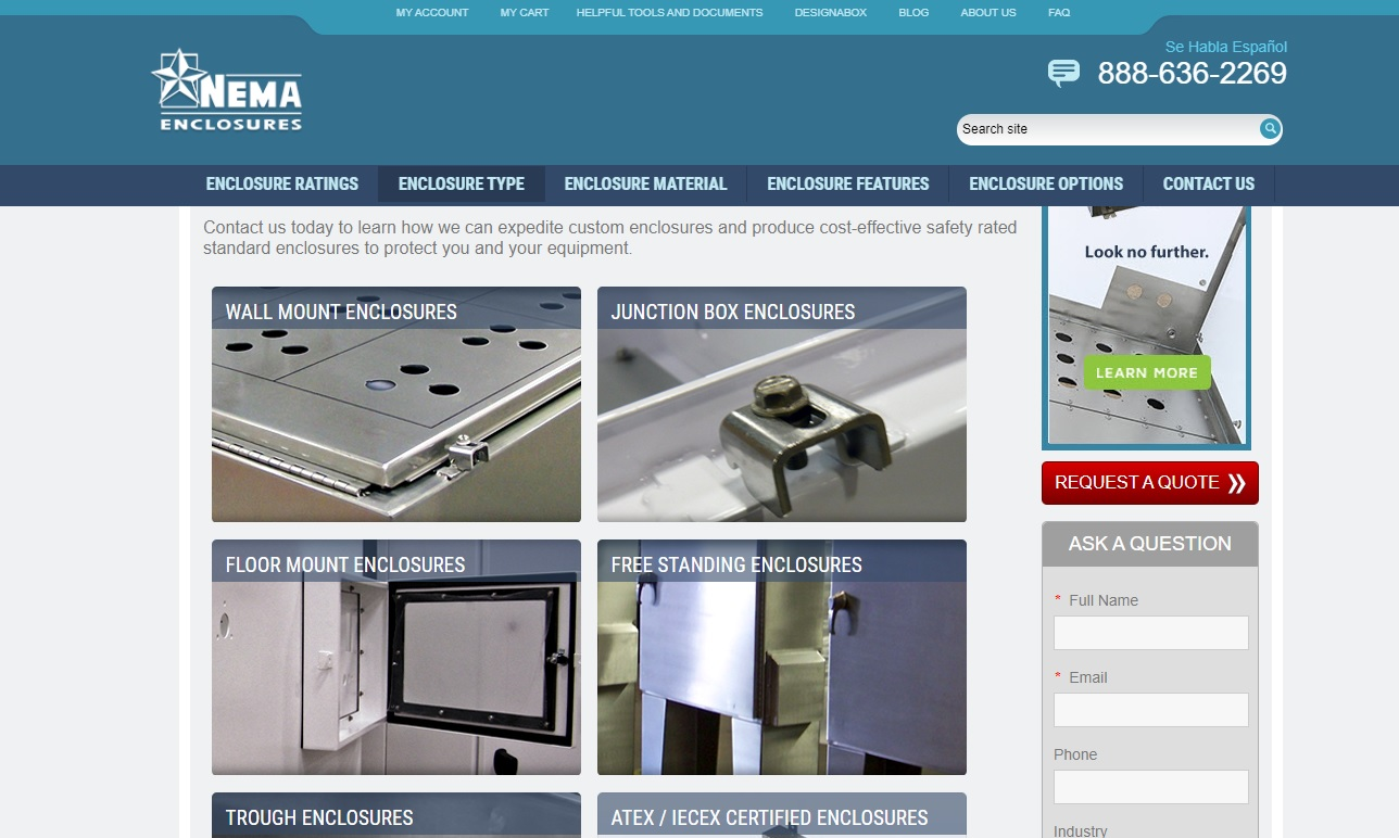 Nema Enclosures Mfg. Corp.